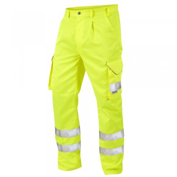 Bideford Yellow High Vis Combat Trousers