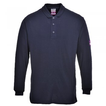 FR10 Fire Retardant Polo in modacrylic/cotton
