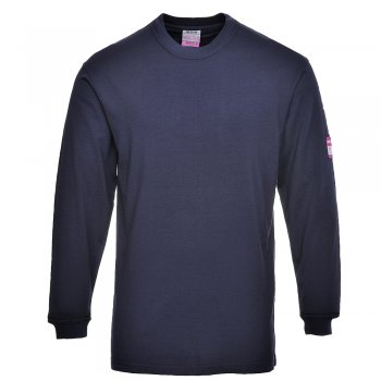 FR11 Fire Retardant Long Sleeve T-Shirt in Mosacrylic/cotton