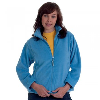 UC608 Ladies Full Zip Fleece by Uneek