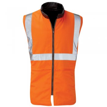 HVRBR02 Trooper Rail Spec High Vis Bodywarmer