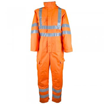 HVRCOV Waterproof Rail and High Vis Coverall