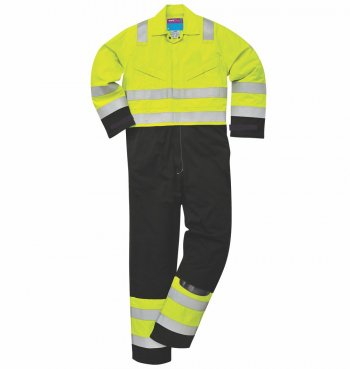 MV28 FR High Vis AS Boilersuit bu Portwest