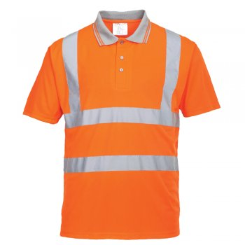 RT22 Polo, High Vis Rail Portwest