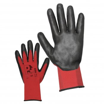 Predator NFPL Nitrile Safety Glove - palm and back of glove