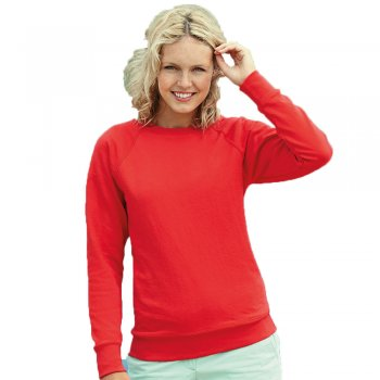 SS180 Ladies Sweatshirt from Fruit of the Loom