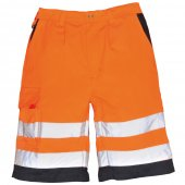 E043 High Vis Shorts by Portwest