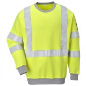 FR72 High Vis Fire Retardant Sweatshirt