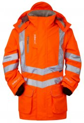 PR499 Pulsar High Vis Rail Storm Coat