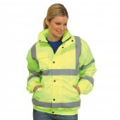UC804 Uneek High Vis Bomber Jacket