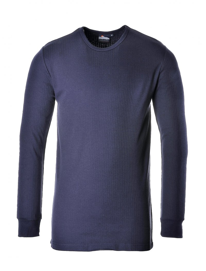 B123 thermal long sleeve t shirt from portwest Thermal t shirt long sleeve